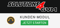 Kunden-Modul Solutions4Gym Support 15.0 starten